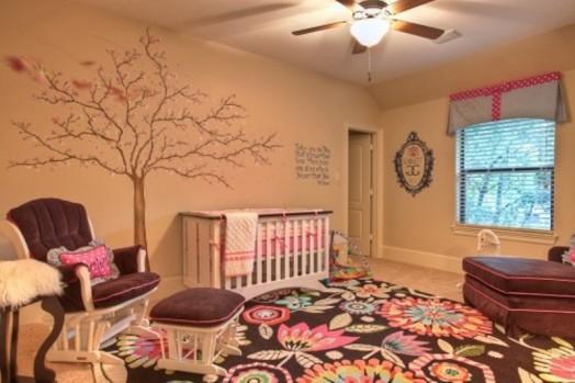 Stilvolle, rosabraune Kinderzimmer Designs – traumhaftes Interieur ...