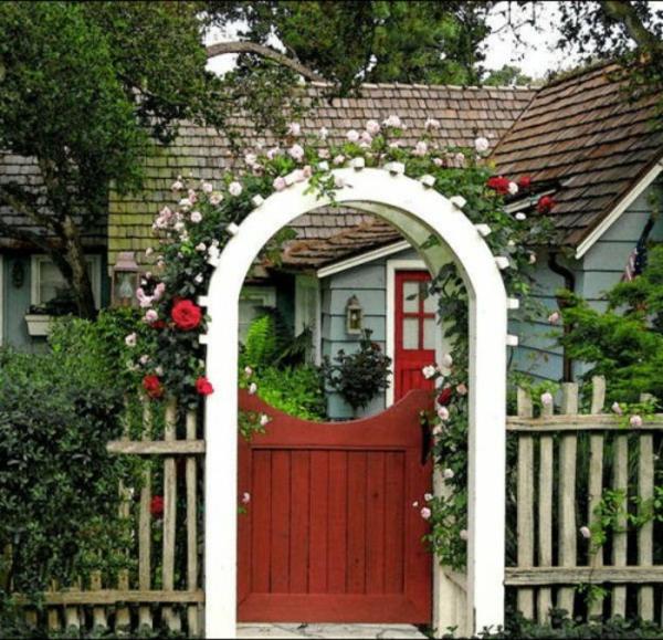 zauberhafte rosenbögen im garten – 21 tolle vorschläge,