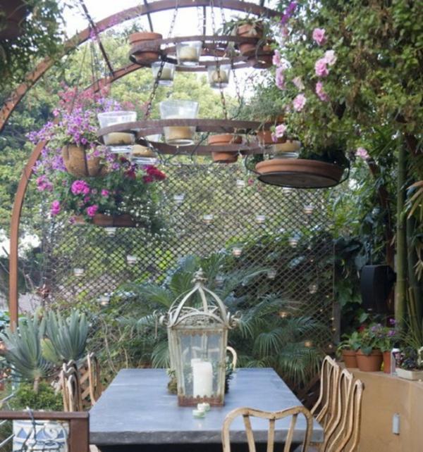 romantische garten gestalten | möbelideen, Garten und bauen