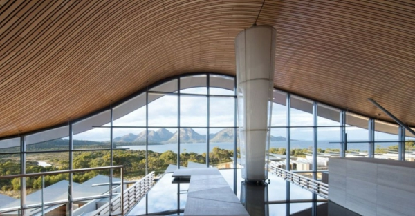 saffire freycinet ferienort tasmanien einzigartig konstruktion