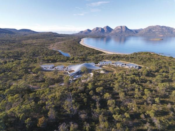 saffire freycinet urlaubsort tasmanien wunderschön natur
