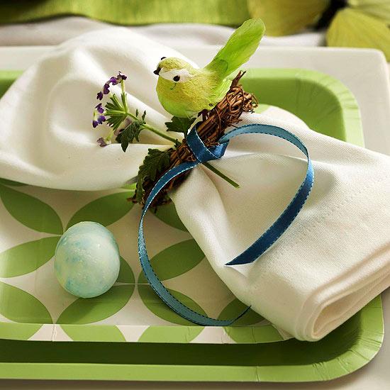 20 leichte selbstgemachte ostern tischdeko und tischsets. Black Bedroom Furniture Sets. Home Design Ideas