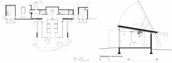 shadowboxx residenz usa gebirge idee design