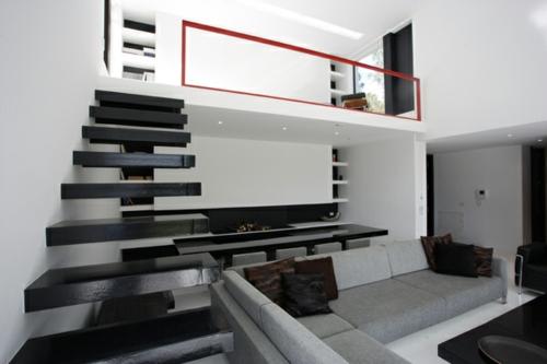 design : wohnzimmer weiß grau ~ inspirierende bilder von ... - Bilder Wohnzimmer Schwarz Weiss