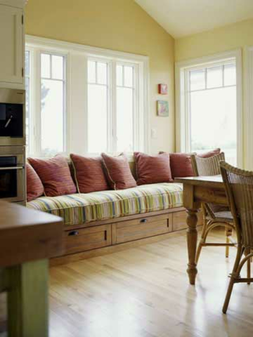 Image Result For Built In Bench Seat Kitchen