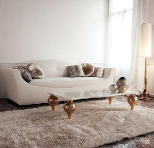 Wundersch nes wohnzimmer design von cattelan italia for Marmortisch wohnzimmer