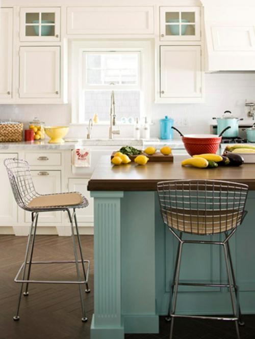 Kücheninsel mit Sitzplätzen idee gestaltung design