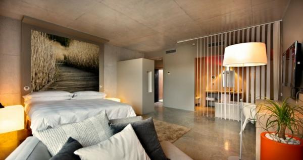 hotel spanien dorf designhouses schlafzimmer