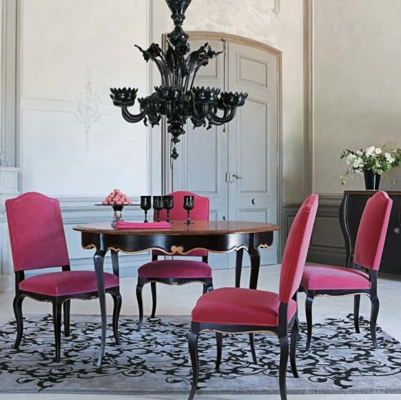 elegante ausstattung im esszimmer mit rustikalen möbeln, Esszimmer dekoo