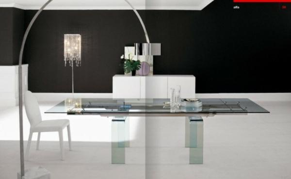 Esszimmer design von cattelan italia attraktive ideen for Glastisch esszimmer