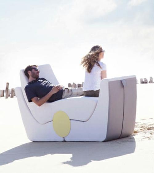 stapelbares puzzle außenmöbelstück design