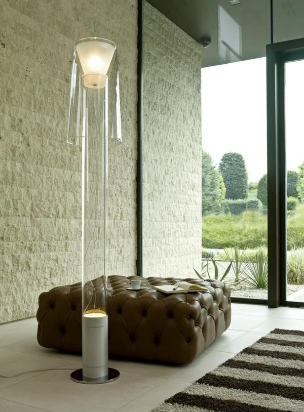 Designer lampen aus technopolymer vom bag kollektion - Moderne wohnzimmer stehlampe ...
