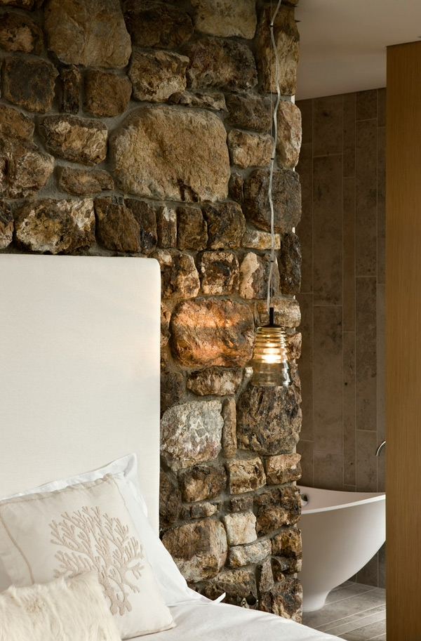 steinwand interieur design andrew patterson landhausstil