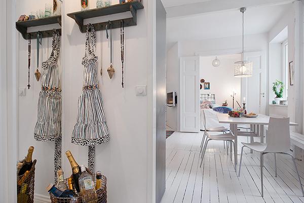 stilvolle einrichtung apartment weiß göteborg keller