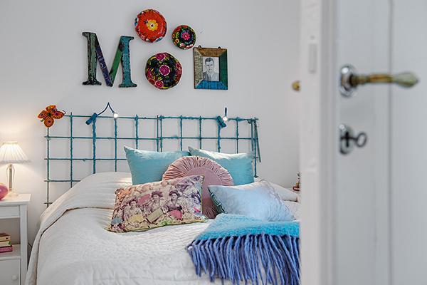 stilvolle einrichtung apartment weiß göteborg schlafzimmer bett