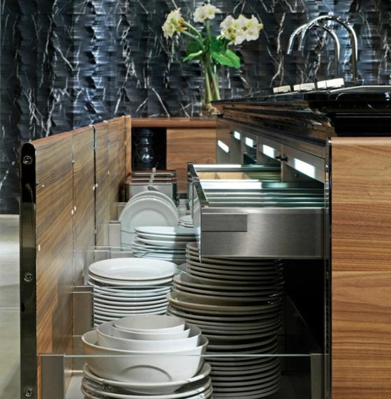 stilvolle k chenm bel mit italienischem design. Black Bedroom Furniture Sets. Home Design Ideas