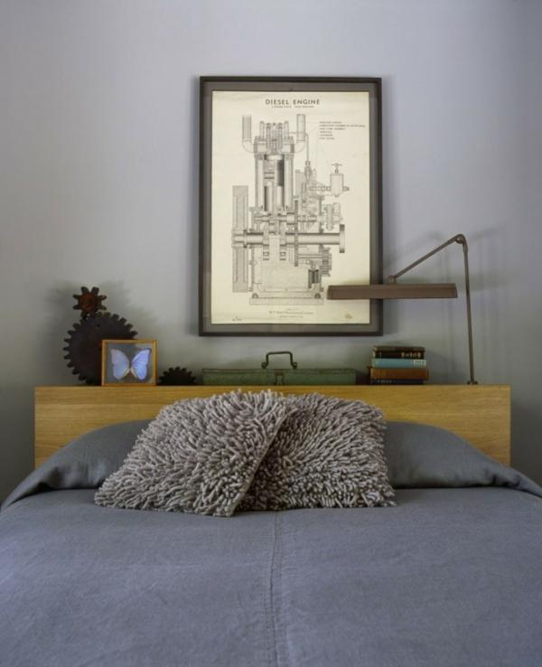 stilvolles haus design 16 türen new york holz schlafzimmer bett