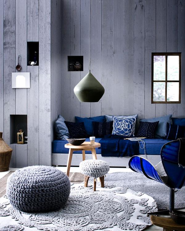 Wohnzimmer und Kamin wohnzimmerwand blau : wohnzimmer blau grau streichen – Dumss.com