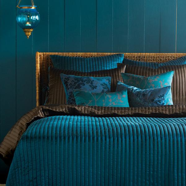 Türkisfarbene Interieur Designs - Verfeinert Und Stilvoll