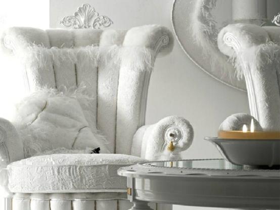 tiffany altamoda esszimmer möbel weiß gepolstert sesel