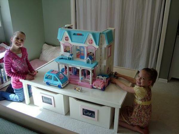 amüsanter tisch zum spielen – tolle ideen für das kinderzimmer, Schlafzimmer design