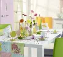 Frische und nützliche Ideen für erstaunliche Frühlingsdekoration