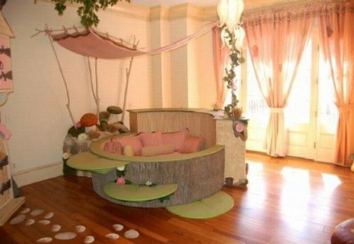 Kinderzimmer Originell Gestalten Traumhaftes Design Fur Junges Madchen Passend