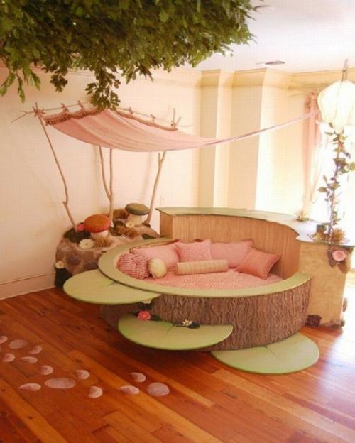 traumhaftes kinderzimmer design f r junges m dchen passend. Black Bedroom Furniture Sets. Home Design Ideas
