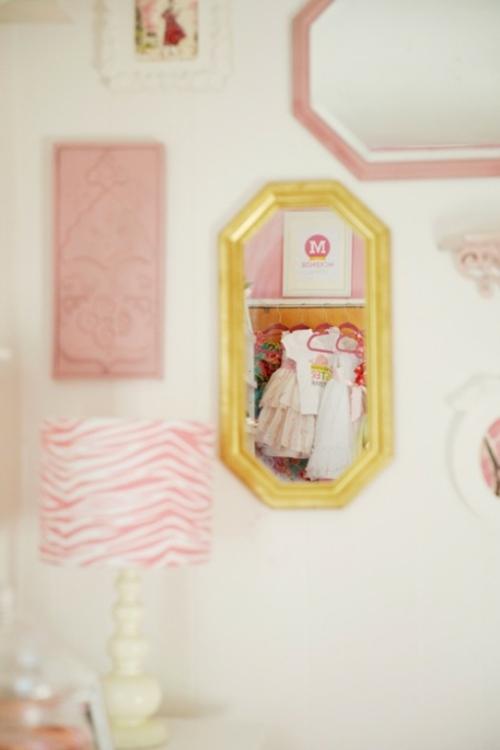 Traumhaftes kinderzimmer design f r junges m dchen passend for Spiegel kinderzimmer