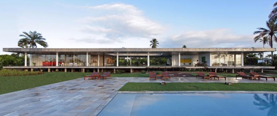 traumhaftes sommerhaus mekena resort brazilien pool haus gebäude