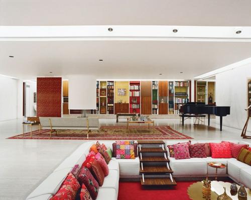 Wohnzimmer kuschelig  Modernes Wohnzimmer Design - Ecke zur Entspannung und Unterhaltung