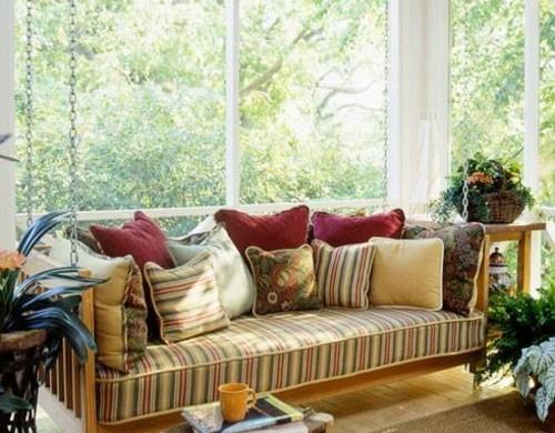 veranda idee deko. Black Bedroom Furniture Sets. Home Design Ideas