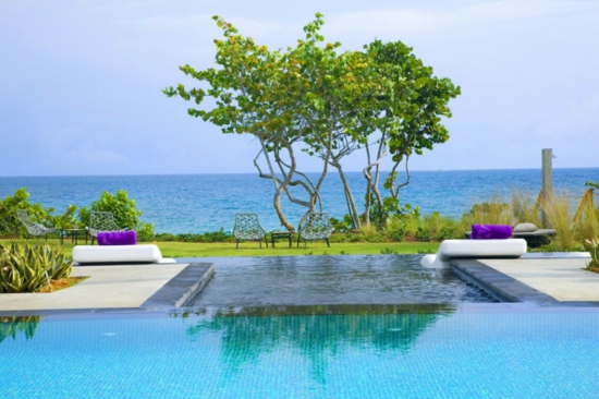 vieques insel spa hotel innenfof strand meer pool