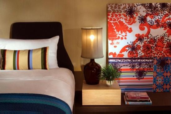 vieques insel spa hotel schlafzimmer farbig einrichtung