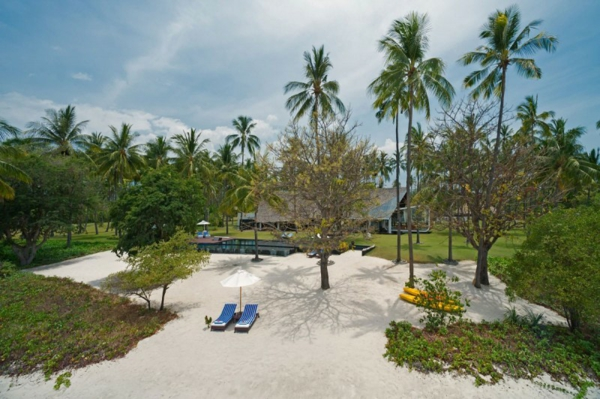 villa sapi kokospalmen strand