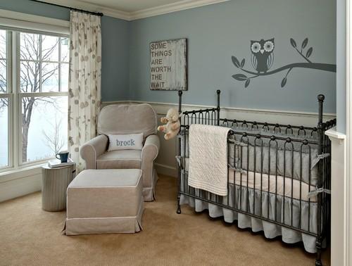 babyzimmer gestalten: 70 ideen für geschlechtsneutrale deko ... - Babyzimmer Wandgestaltung Beispiele Neutral