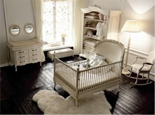 Kinderzimmer Einrichtung - vintage Akzente einsetzen | {Babyzimmer ausstattung 35}