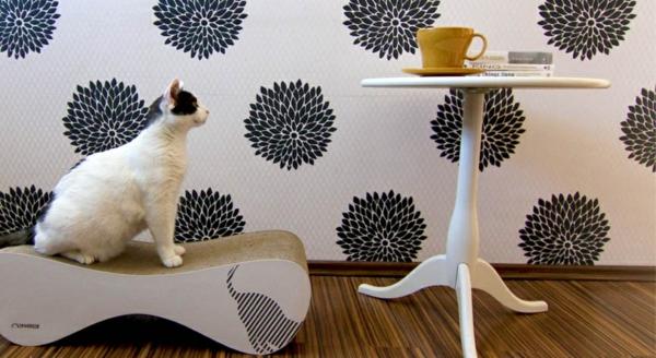 weiß braun Schickes Tiermöbelstück idee polnisch designerin