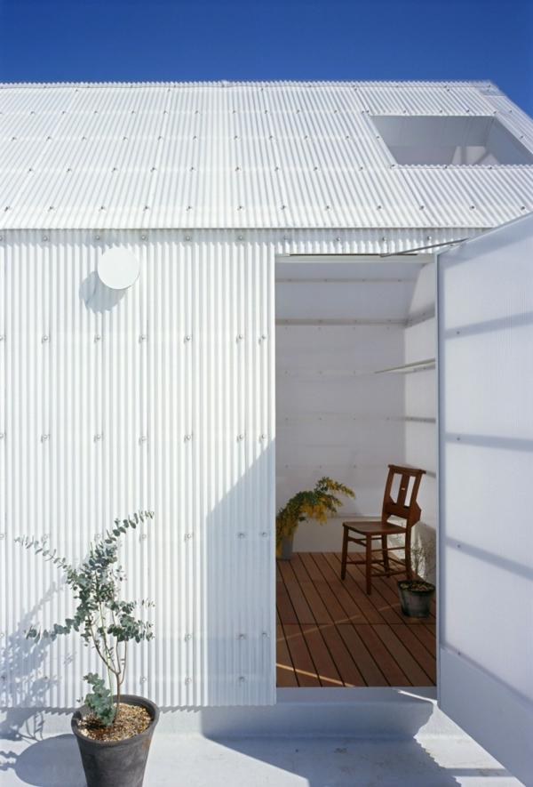 weißes transparentes haus asia design stuhl