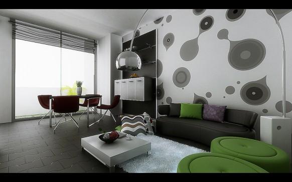 wohn-und-esszimmer-farbkleckse-stilvoll-lustig
