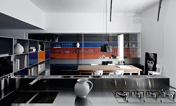 wohnung ohne zwischenwände küche essbereich