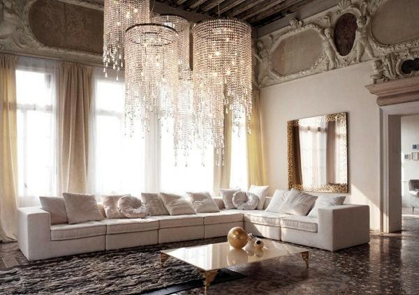 wohnzimmer groß weiß sitzecke