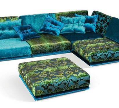 das wohnzimmer mit napali sofa von bretz wohntr ume versch nern. Black Bedroom Furniture Sets. Home Design Ideas