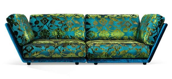 Wohnzimmer und Kamin wohnzimmerwand blau : Wohnzimmer Zwei Sofas ~ brimob.com for .