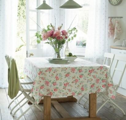 frische frühlingsdekorationen im esszimmer – 30 inspirierende ideen, Esszimmer dekoo