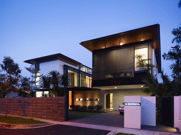 zen haus singapur entspannung architektur