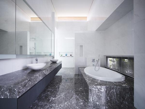 architektonisches element entspannung bad marmor dunkel