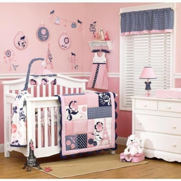 Zimmer Deko Paris Baby Mädchen