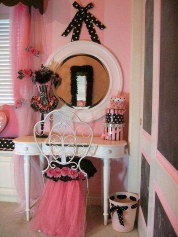 das zimmer in paris style einrichten ideen f r teenager m dchen. Black Bedroom Furniture Sets. Home Design Ideas