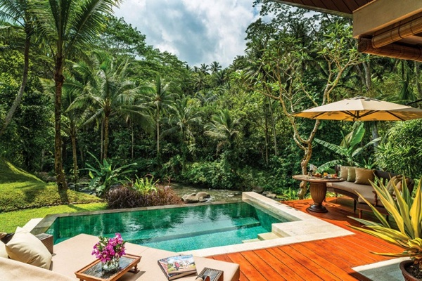 Four Seasons Resort Bali insel design garten hinterhof